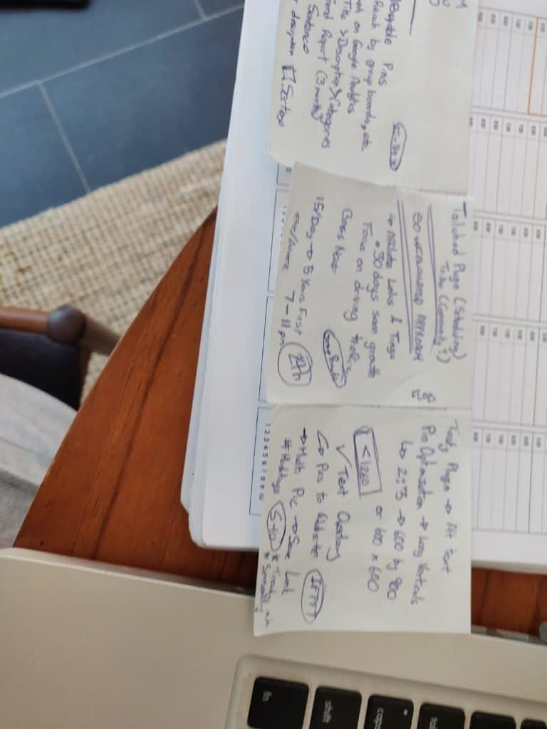 Notes I took during this seminar