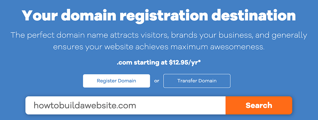 Select a Domain on Hostgator Dylankyang | The Complete Beginner's Guide on How to Build a Website in 4 Simple Steps