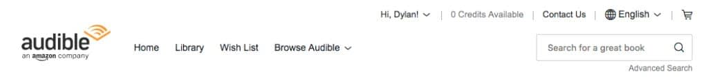Audible and iTunes